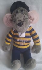 Vintage Rare 1980s Big 'Roland Rat' Superstar Collectable Plush Toy